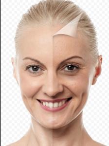 лицо молодое