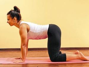 Боль в спине, упражнения