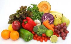 Цветная диета против старения.
