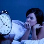 Ночная бессонница после летнего отдыха.