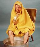 Как помочь при первых симптомах  простуды.