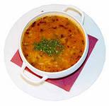 Разноцветный суп-пюре из моркови.